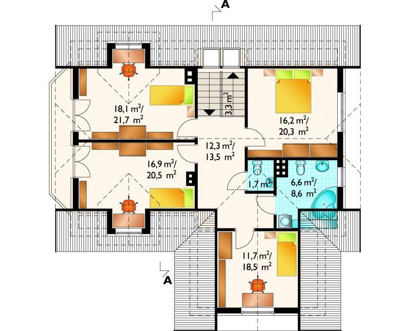 Проект дома Розалия (E-441)