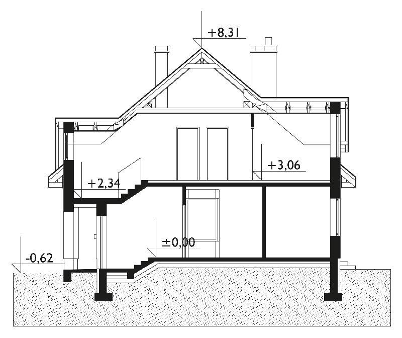 Проект дома Саба (E-782)