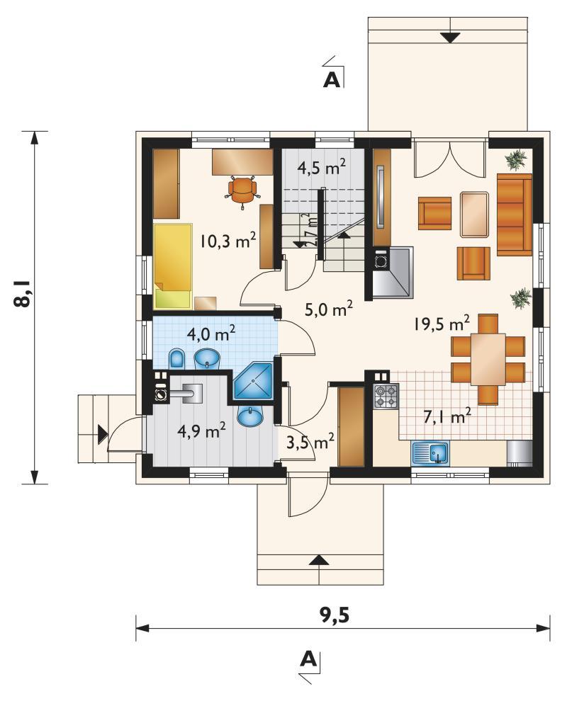 Проект дома Самбор Бобо (E-1122)