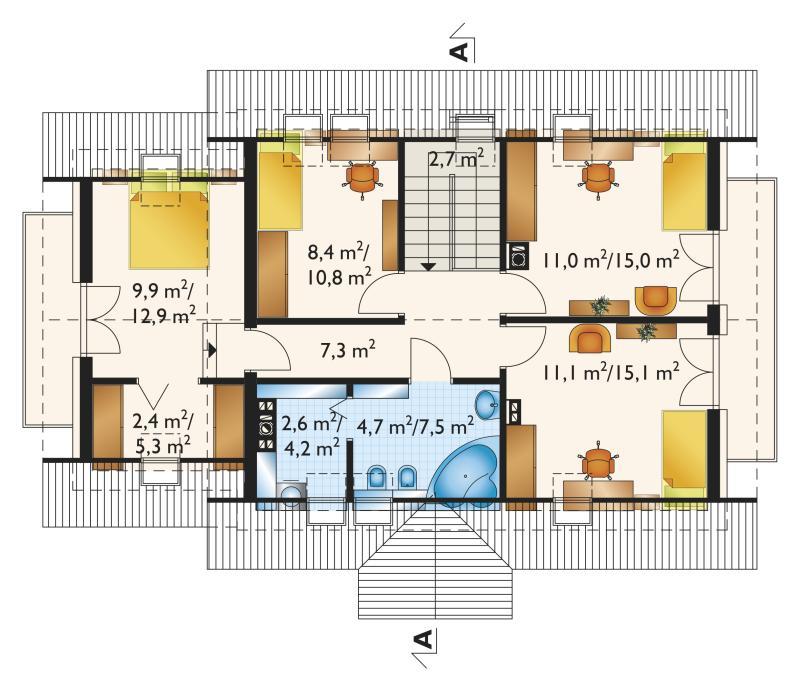 Проект дома Самбор Мобиль (E-995)