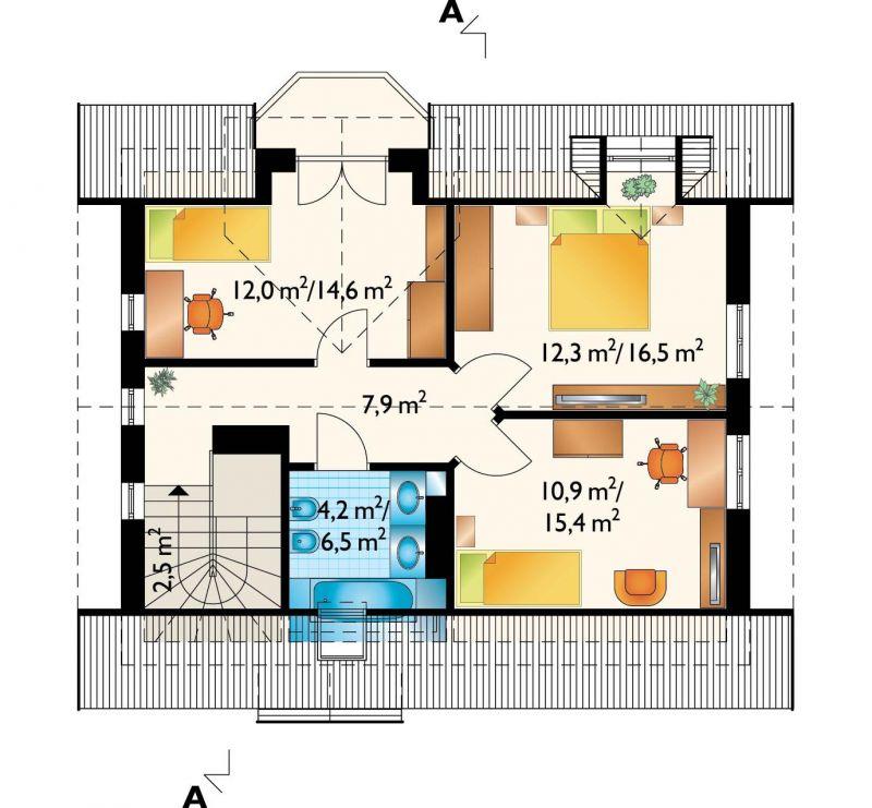 Проект дома Щука (E-493)