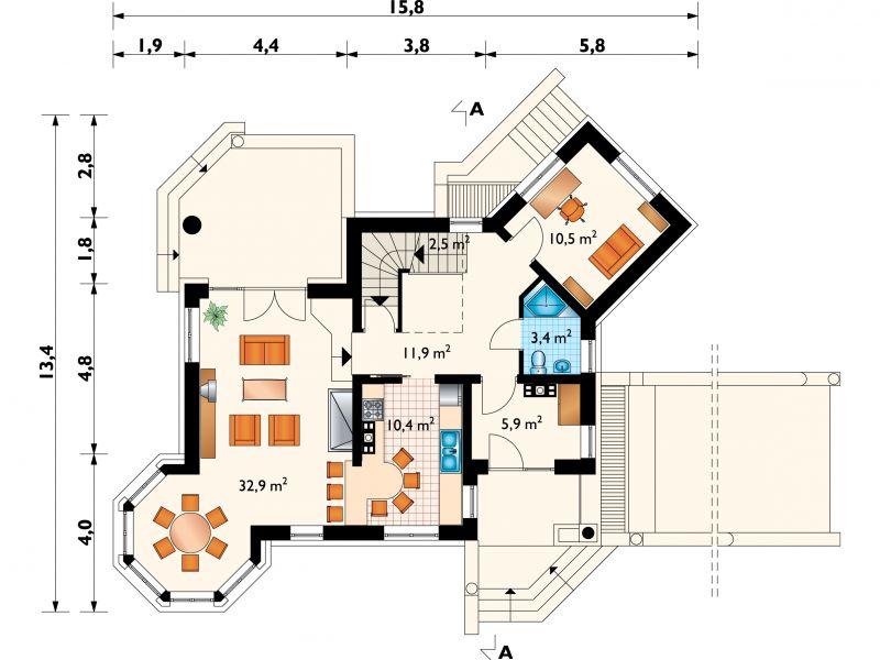 Проект дома Скрипач (E-457)