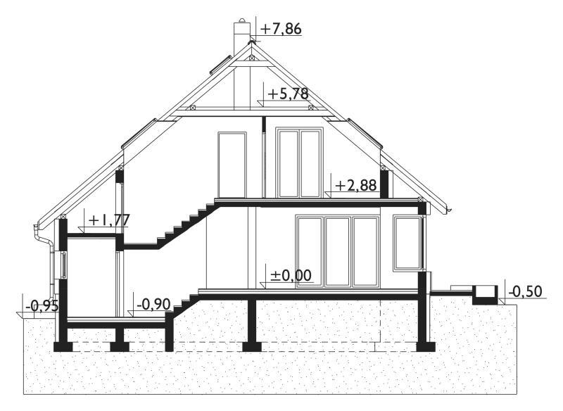 Проект дома Скарабей Поло (E-1174)