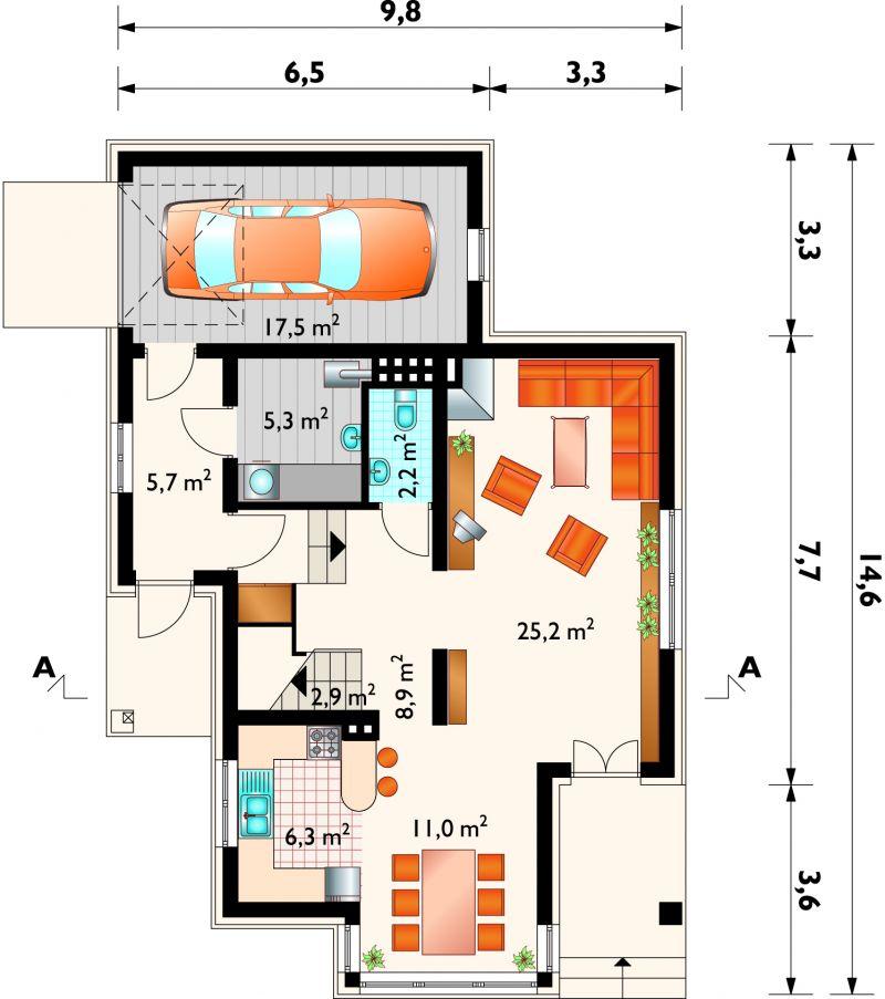Проект дома Соломка (E-461)