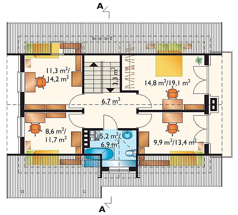 Проект дома Соловей (E-462)