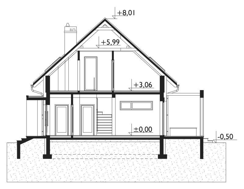 Проект дома Смычок Нео (E-1128)