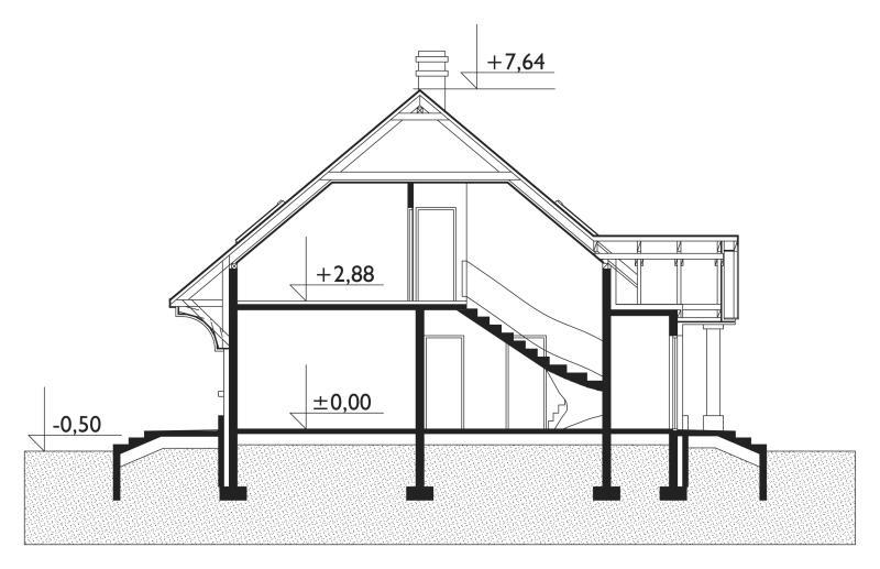 Проект дома Стас (E-575)