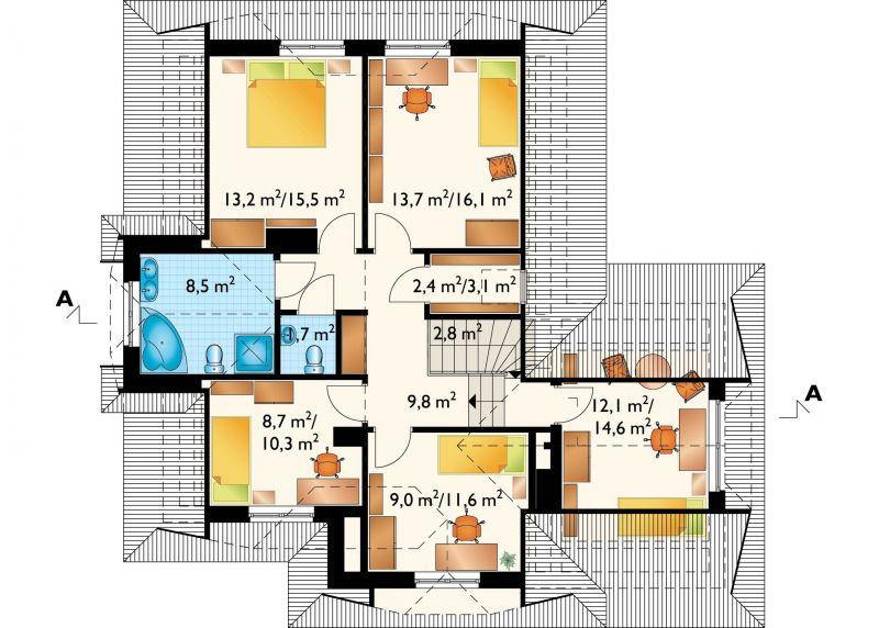Проект дома Струя (E-476)