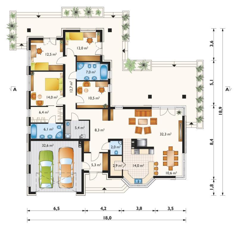 Проект дома Сириус Ату (E-1177)
