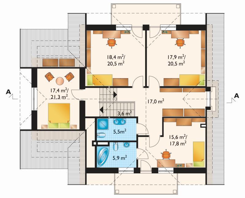 Проект дома Семен - 2 (E-491)