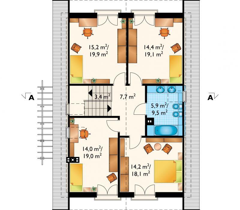 Проект дома Тамаришка (E-708)