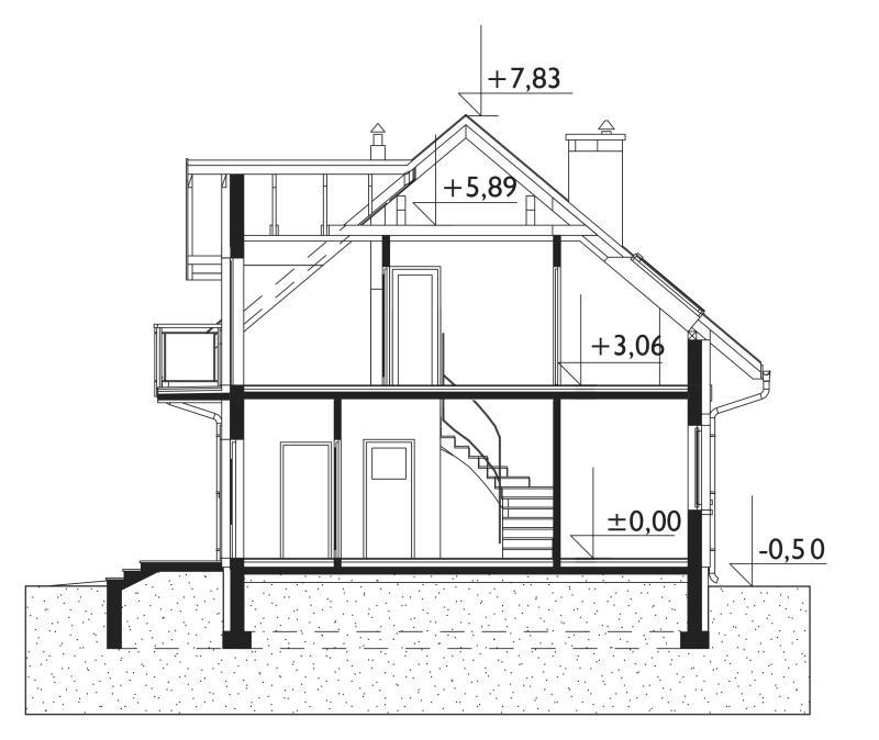 Проект дома Тарот Мини (E-1051)