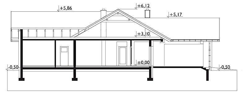 Проект дома Тэльма (E-1267)
