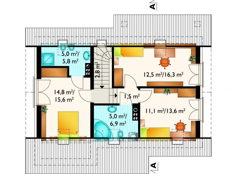 Проект дома Тибор (E-1184)