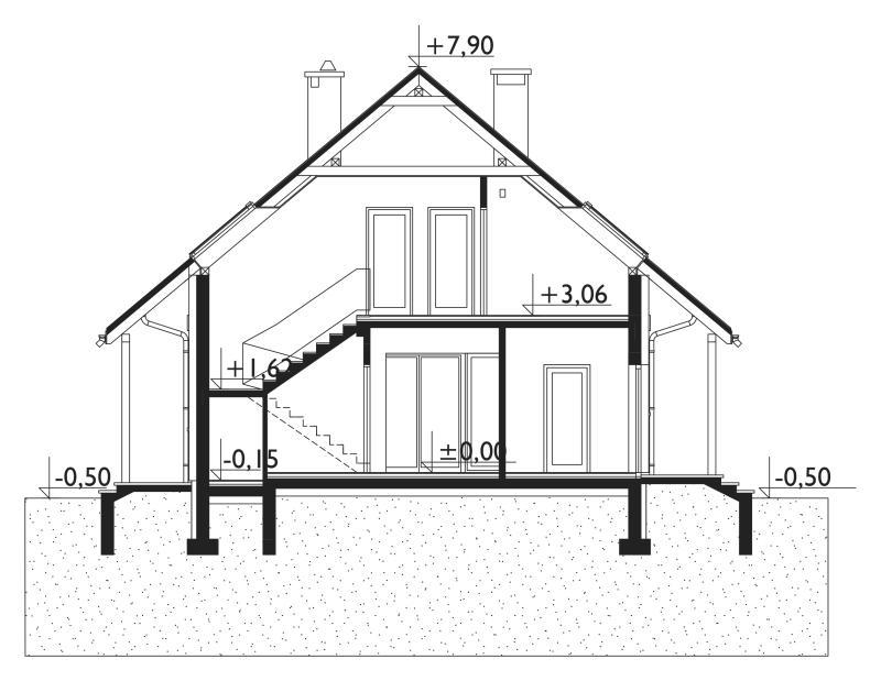 Проект дома Толя Мини (E-1054)