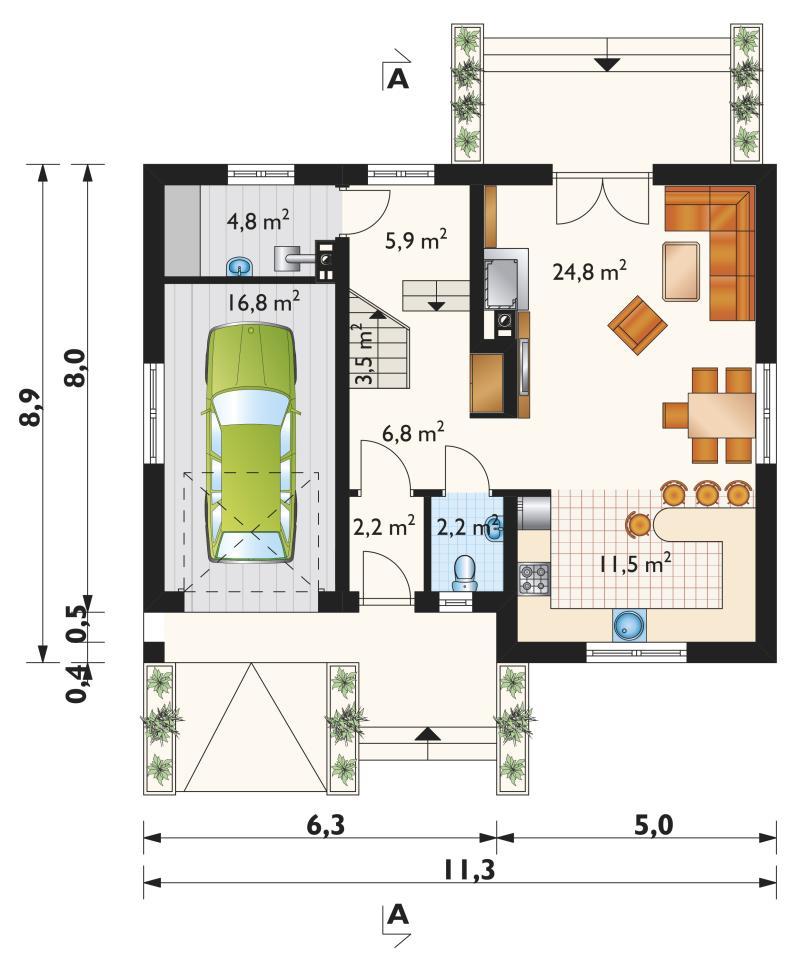 Проект дома Томир Ас (E-947)