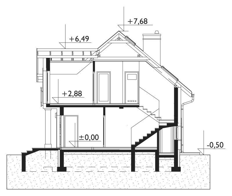 Проект дома Томир Люкс Солис (E-1061)