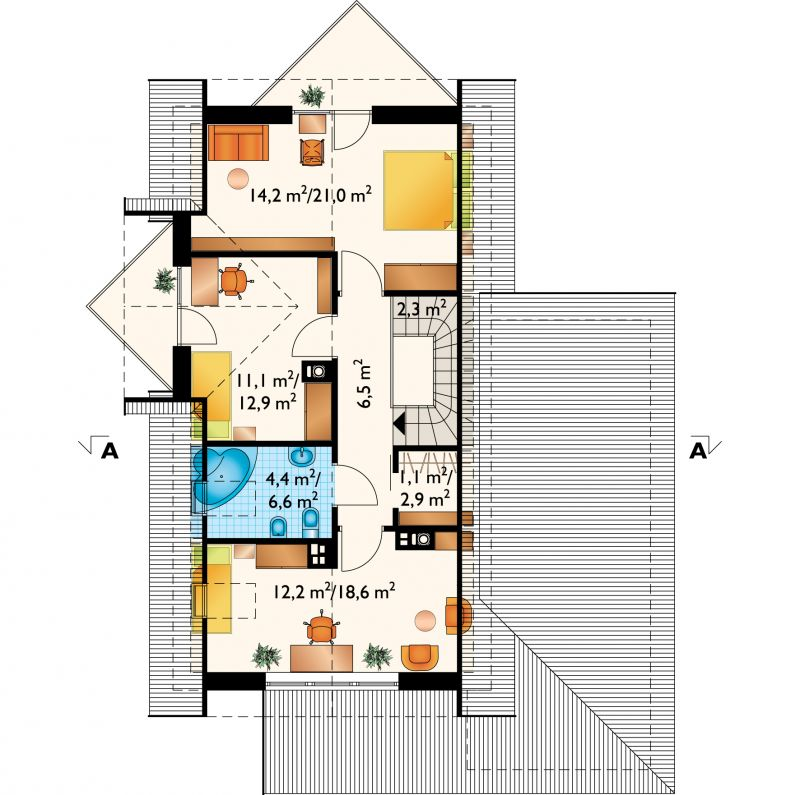 Проект дома Тукан Миди (E-837)