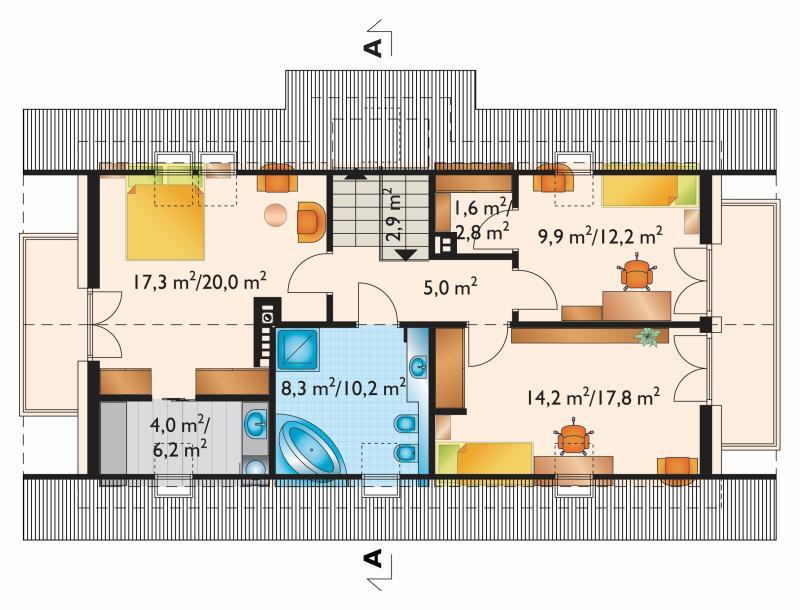 Проект коттеджа Тулио (E-1064)