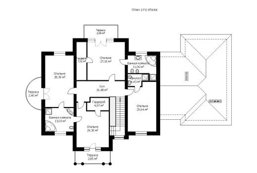 Проект дома ГП-141-04 (E-20)