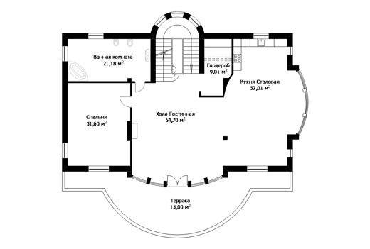 Проект дома ГП-193-06 (E-21)