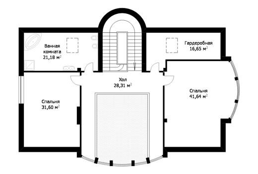 Проект коттеджа ГП-193-06 (E-21)