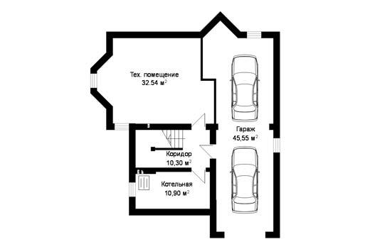 Проект дома ГП-40-07 (E-4)