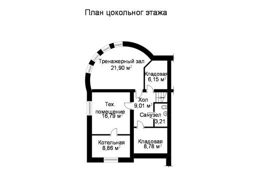 Проект дома ГП-72-07 (E-7)