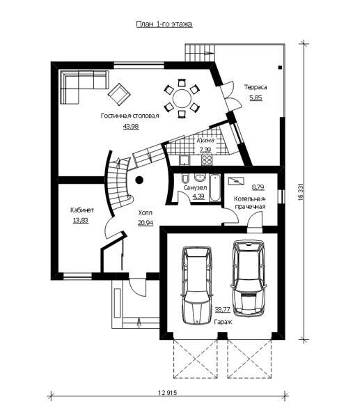 Проект домa ГП-88-08
