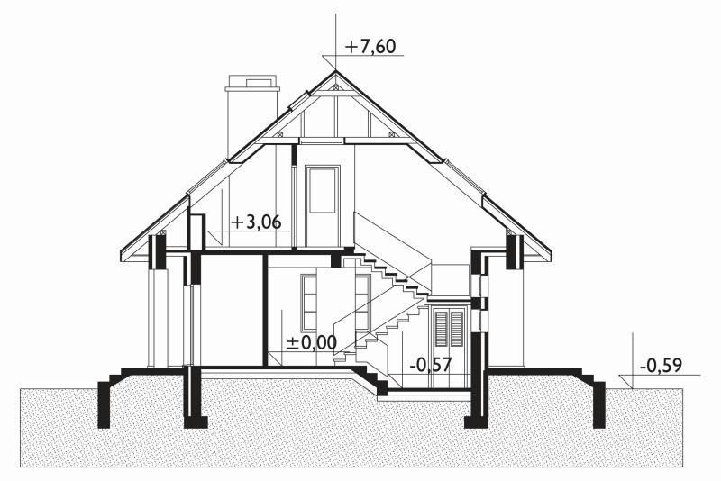 Проект дома Ветерок Люкс (E-853)
