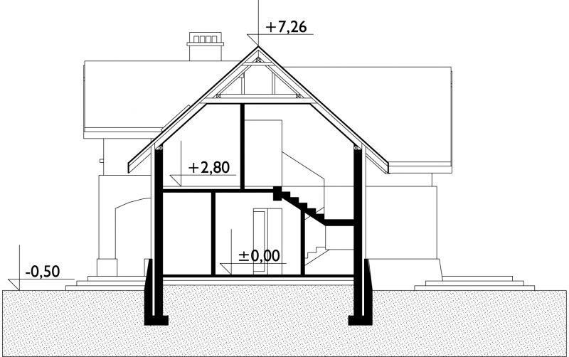 Проект дома Вишнёвый сад (E-532)