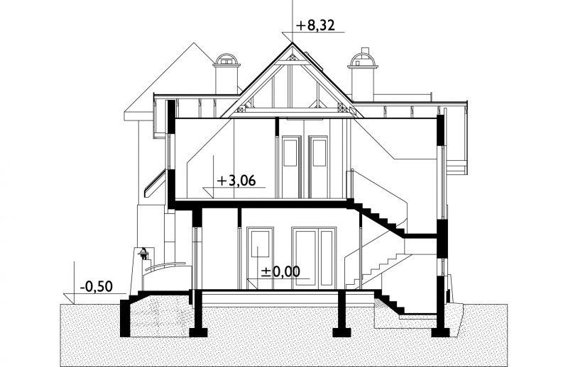 Проект дома Задора Люкс (E-846)