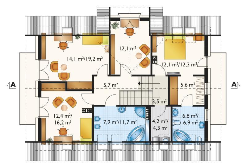 Проект дома Захира (E-1185)