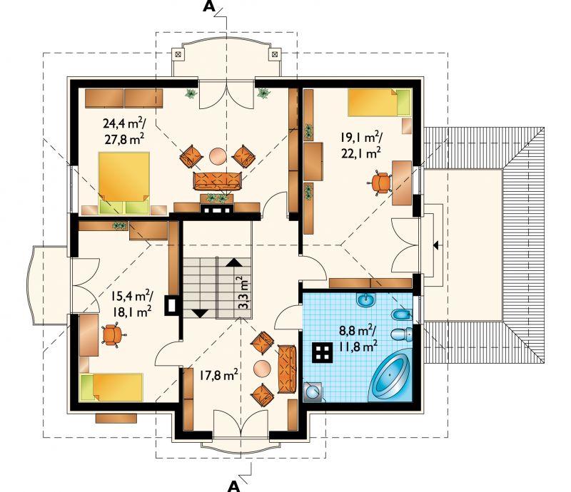 Проект дома Ручеёк (E-545)