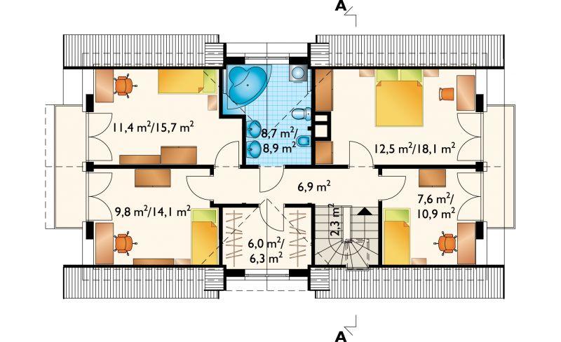 Проект дома Зебра (E-546)