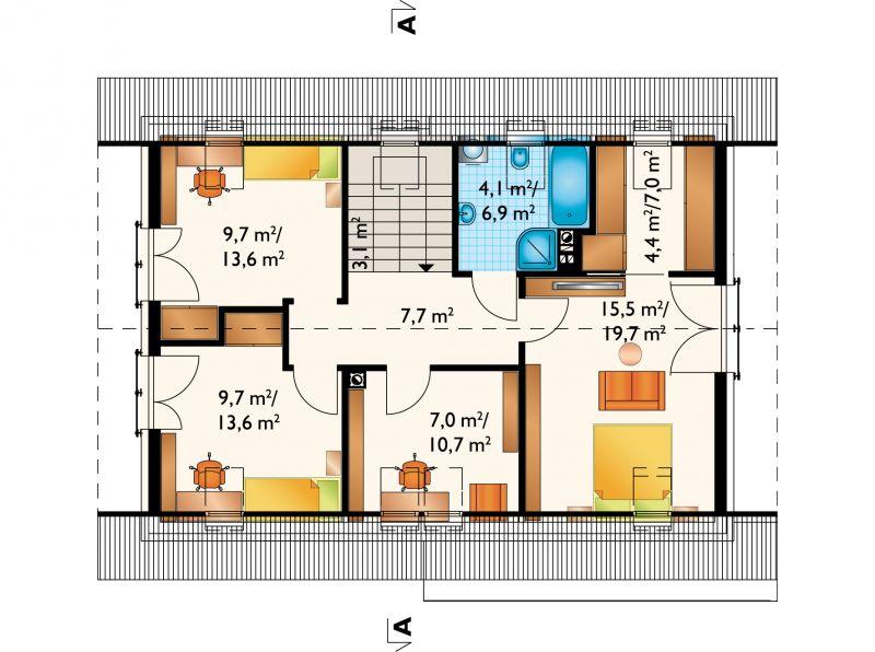 Проект дома Зефир Нова (E-1273)