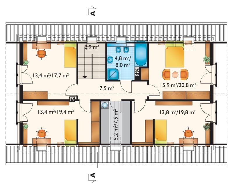 Проект дома Зефир Г2 (E-1315)