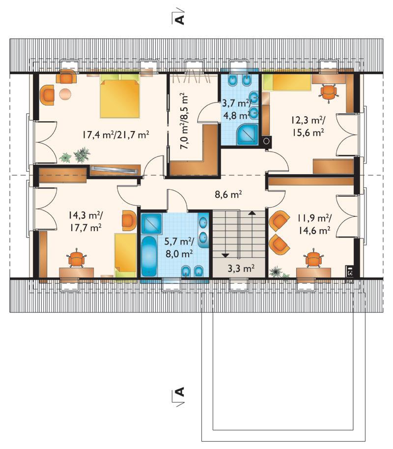 Проект дома Зенон Рекс (E-1270)