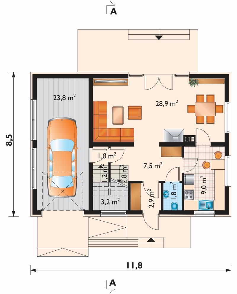 Проект дома Зета (E-1062)