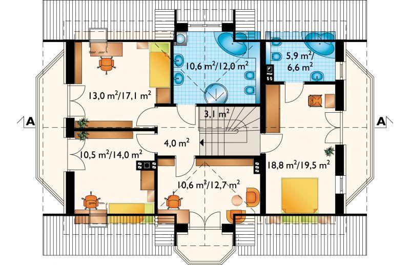 Проект коттеджа Софи (E-950)