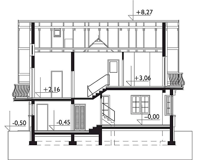 Проект дома Софи Бобо - зеркальное отражение (E-1063)