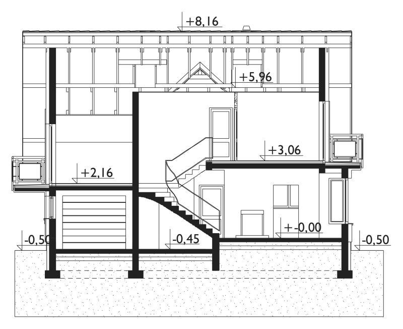 Проект дома Софи Мини Нео (E-1142)