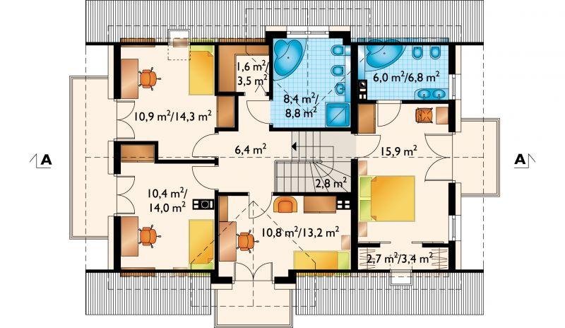 Проект дома Софи Нео (E-1076)