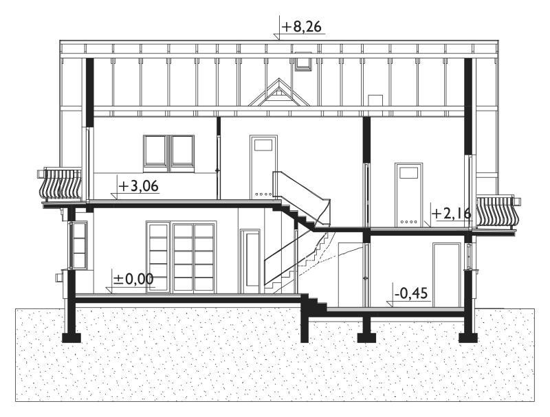 Проект дома Софи Поло (E-975)