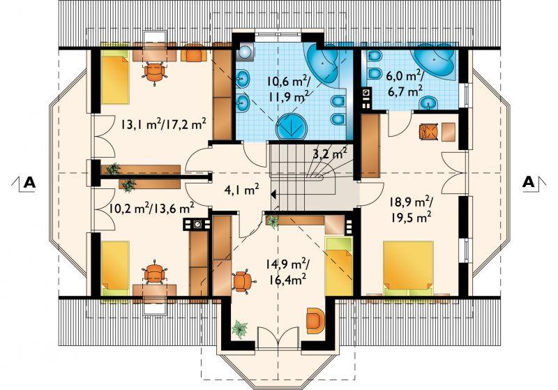 Проект дома Софи Портик (E-974)
