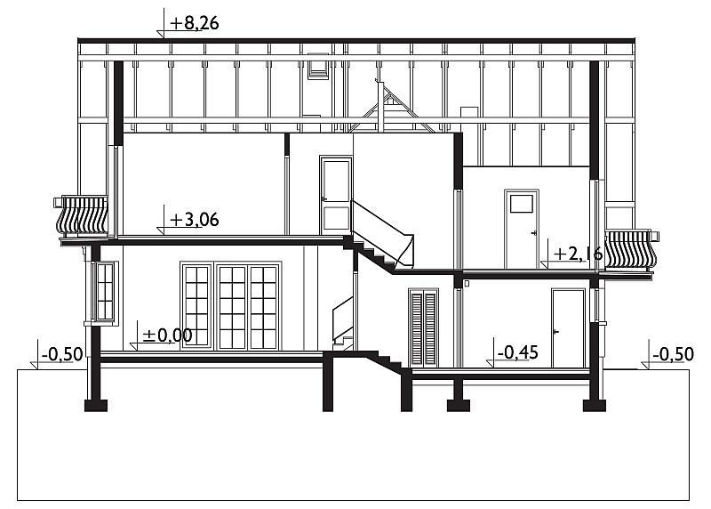 Проект дома Зоя Гера (E-1020)