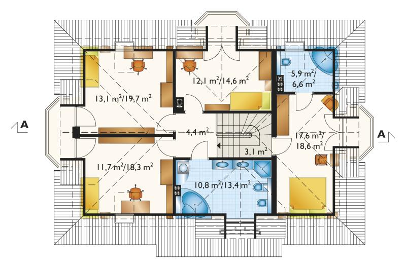 Проект дома Зоя Каро (E-874)