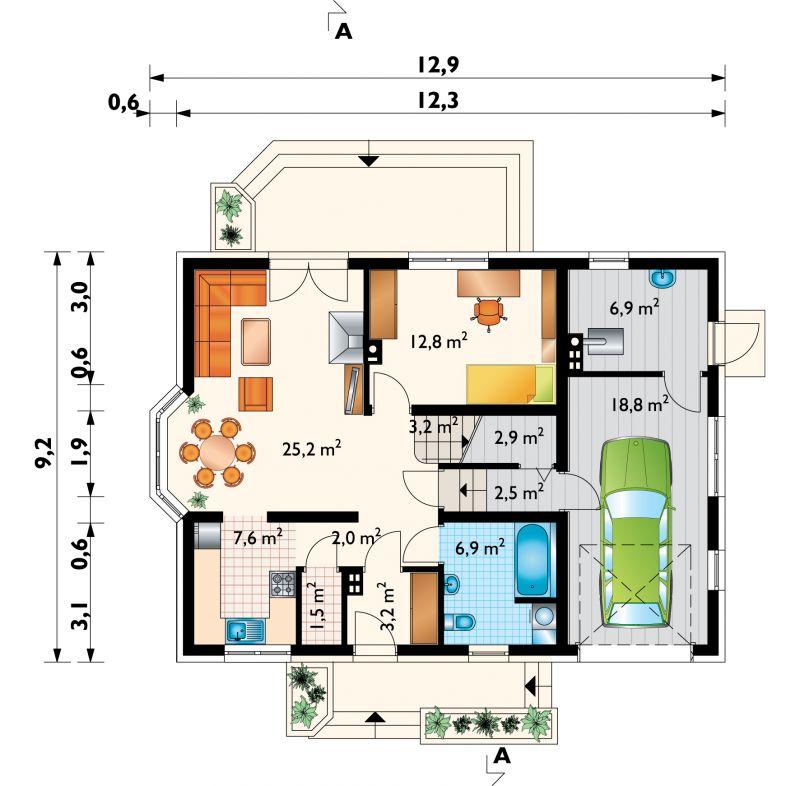Проект дома Зоя Люкс (E-814)