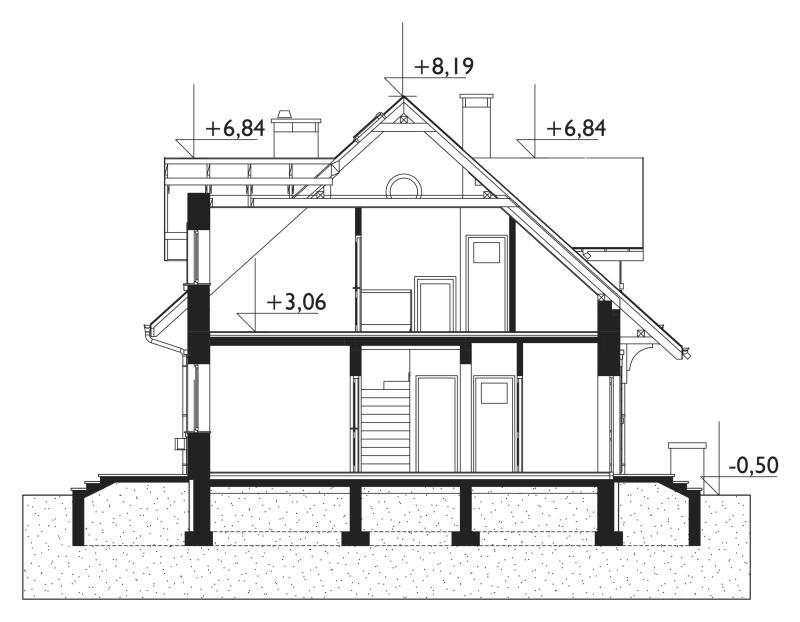 Проект дома Зоя Люкс Энерго (E-1034)