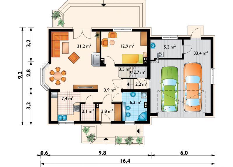 Проект дома Софи Люксор Г2 (E-998)